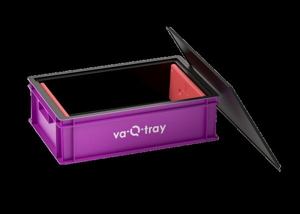 va-Q-tray mit Akku-Set, -2°C bis +2°C