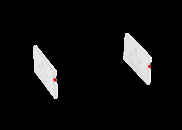 Akku-Set für va-Q-tray, -20°C bis -10 °C